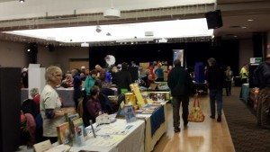 Bazaar at the Filberg Centre as part of the World Community Film Festival