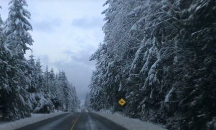 Snow likely over higher terrain in Metro Vancouver on Tuesday