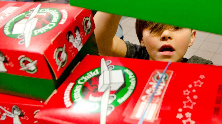 Operation Christmas Child Shoebox.Saturday Deadline To Submit A Shoebox Through Operation