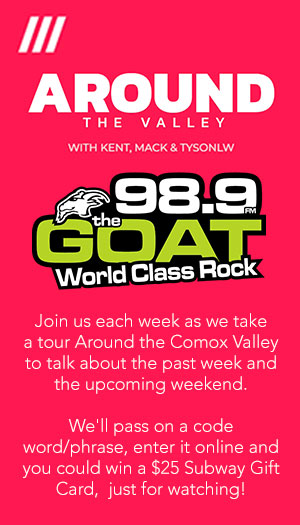 98 9 The GOAT Rocks - Your Local Comox Valley FM Radio