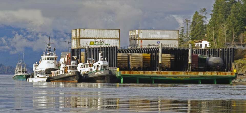 Barge moved to Duncan Bay - My Comox Valley Now